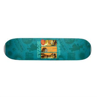 El Gato Con Botas Custom Skate Board