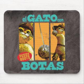 El Gato Con Botas Mouse Pad