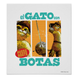 El Gato Con Botas Poster