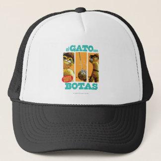 El Gato Con Botas Trucker Hat