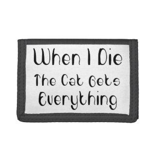 El gato consigue todo