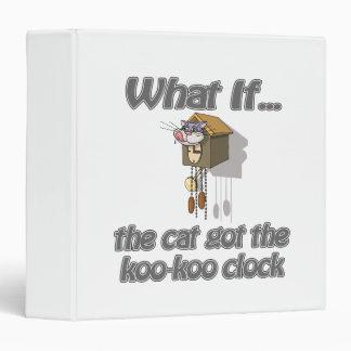 """El gato consiguió el KooKoo Carpeta 1 1/2"""""""