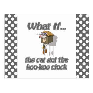 El gato consiguió el KooKoo Tarjetas Postales