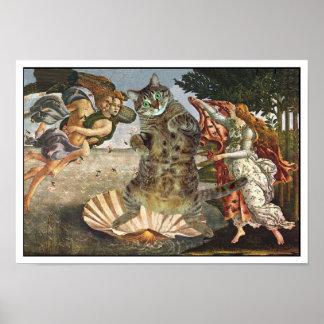 El gato de Botticelli Póster