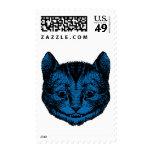 El gato de Cheshire entintó el terraplén azul Envio