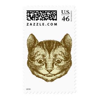 El gato de Cheshire entintó sepia