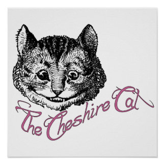 El gato de Cheshire Poster