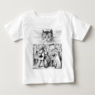El gato de Chesire Playera De Bebé