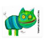 el gato de Estambul Tarjetas Postales