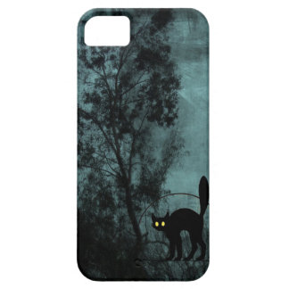 El gato de la bruja iPhone 5 carcasas