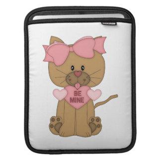 El gato de las tarjetas del día de San Valentín se Mangas De iPad
