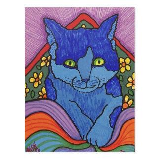 El gato de los niños por Piliero Postal