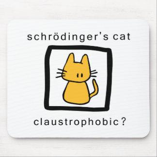 el gato de los schrodinger alfombrilla de raton