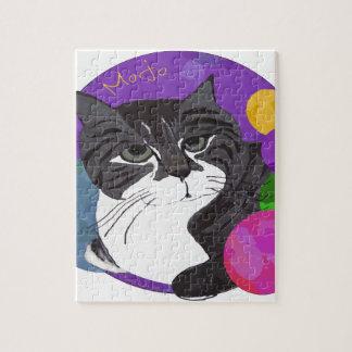 El gato de Mojo Rompecabeza Con Fotos