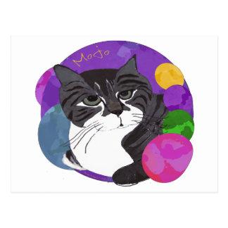 El gato de Mojo Tarjeta Postal