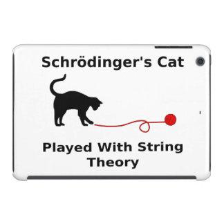 El gato de Schrödinger jugado con teoría de la Funda De iPad Mini