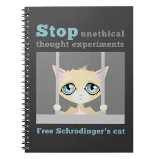 El gato de Schrodinger libre Cuaderno
