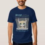 El gato de Schrodinger libre Playera