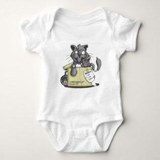 El gato de Schrodinger - nuevo Body Para Bebé