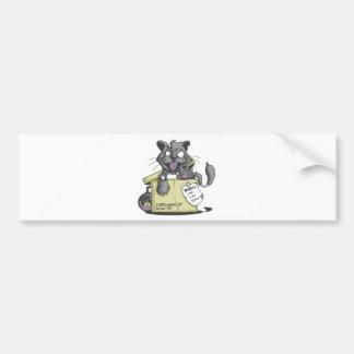 El gato de Schrodinger - nuevo Pegatina De Parachoque