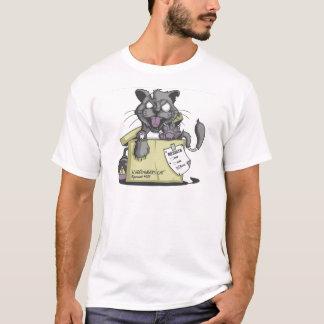 El gato de Schrodinger - nuevo Playera