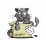 El gato de Schrodinger - nuevo Postal