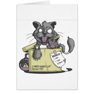 El gato de Schrodinger - nuevo Tarjeta De Felicitación