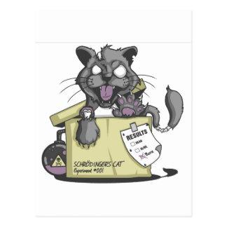 El gato de Schrodinger - nuevo Tarjeta Postal