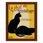El gato de Schrodinger Poster
