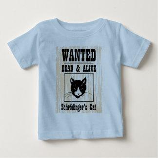 El gato de Schrodinger querido Playera Para Bebé