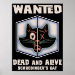 El gato de Schrodinger querido Poster