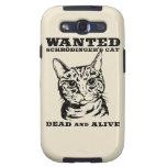 El gato de Schrodinger quiso a muertos o vivo Galaxy SIII Funda