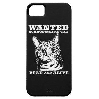 El gato de Schrodinger quiso a muertos o vivo iPhone 5 Carcasas