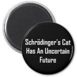 El gato de Schrodinger tiene un futuro incierto Imán