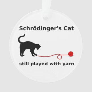 El gato de Schrödinger todavía jugado con hilado
