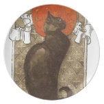 El gato de Steinlein - arte Nouveau Platos