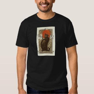 El gato de Steinlein - arte Nouveau Remera