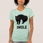 El gato de Swole es gatito Swole Camiseta