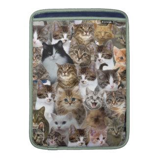 El gato del gatito hace frente al modelo fundas MacBook