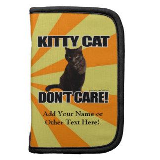 El gato del gatito no cuida organizadores