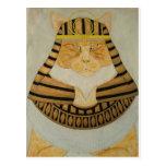 El gato del Pharaoh Tarjeta Postal