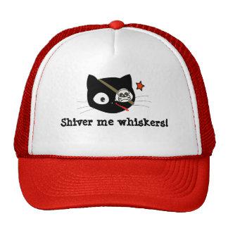 ¡El gato del pirata tiembla yo las barbas! Gorro