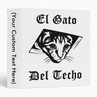 El Gato Del Techo 3 Ring Binder