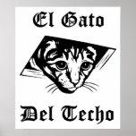 El Gato Del Techo Impresiones