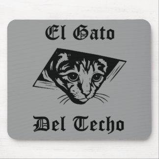 El Gato Del Techo Mouse Pad