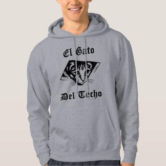 El Gato Del Techo Suéter Con Capucha