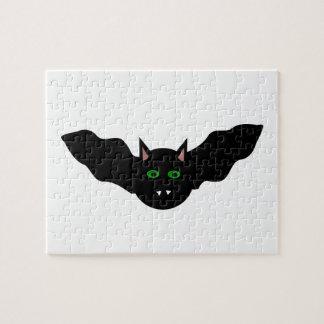 El gato del vampiro hizo frente al rompecabezas de