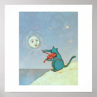 El gato del violín póster