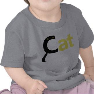 El gato deletrea el gato - camisa amarilla