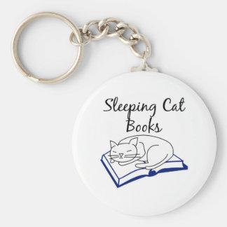 El gato el dormir reserva llavero